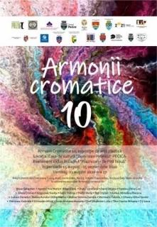 afis armonii cromatice 10 Pecica